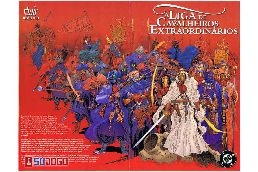 O Jogo da Liga de Cavaleiros Extraordinários – Só Jogo